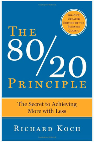 The 80/20 Principle by Richard Koch (Book Review) by Mostafa Hosseini Health clinic growth and marketing coach
