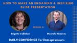 How do you make a slide presentation engaging?