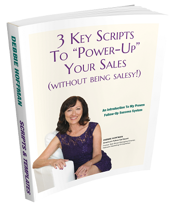 3 Key Scripts to Power-Up Your Sales
