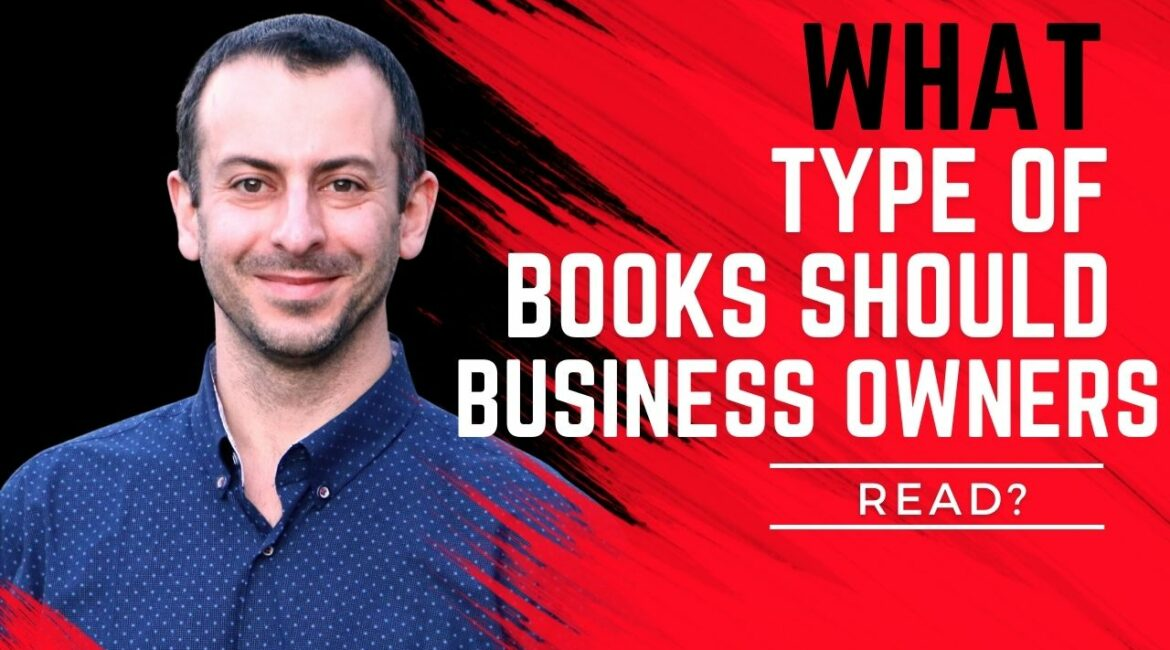 What types of books should business owners read