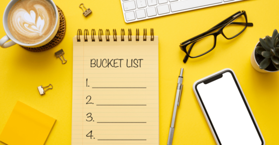 How creating and reviewing your Bucket List help you boost your confidence Ep.12