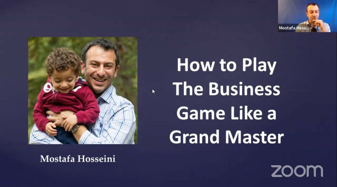 How to run a small business like a GRAND MASTER!